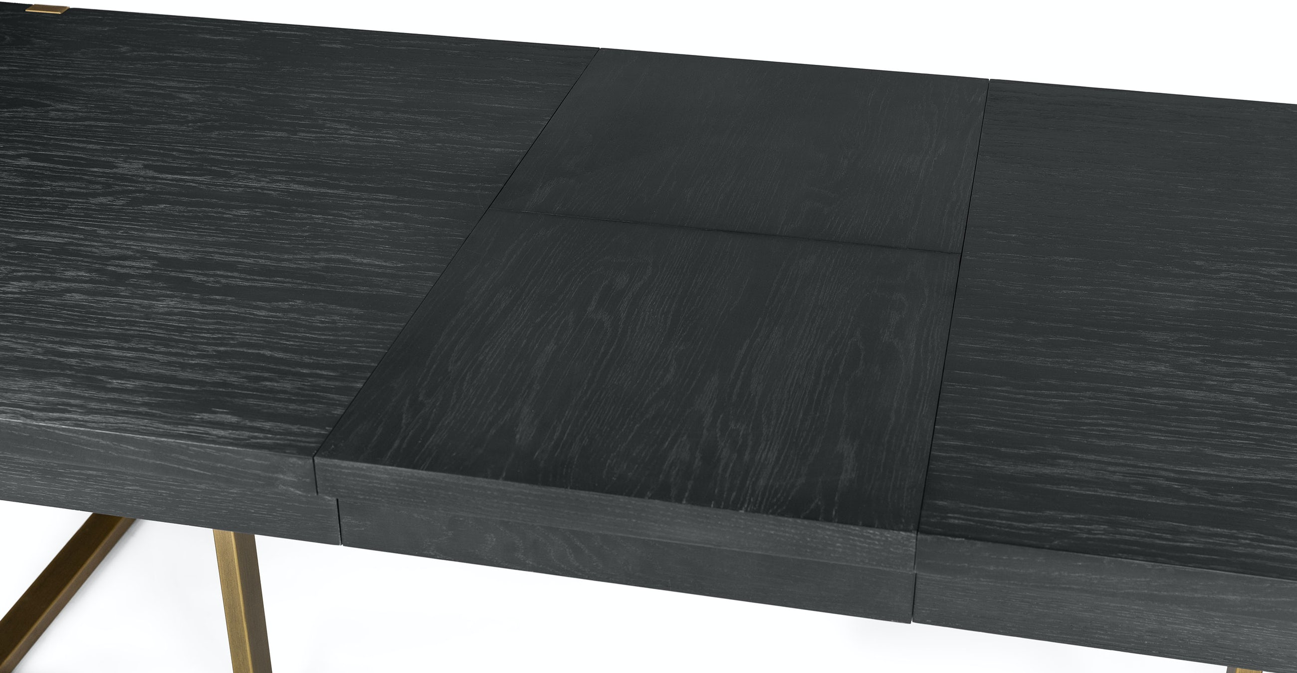 Oscuro Black Extendable Dining Table