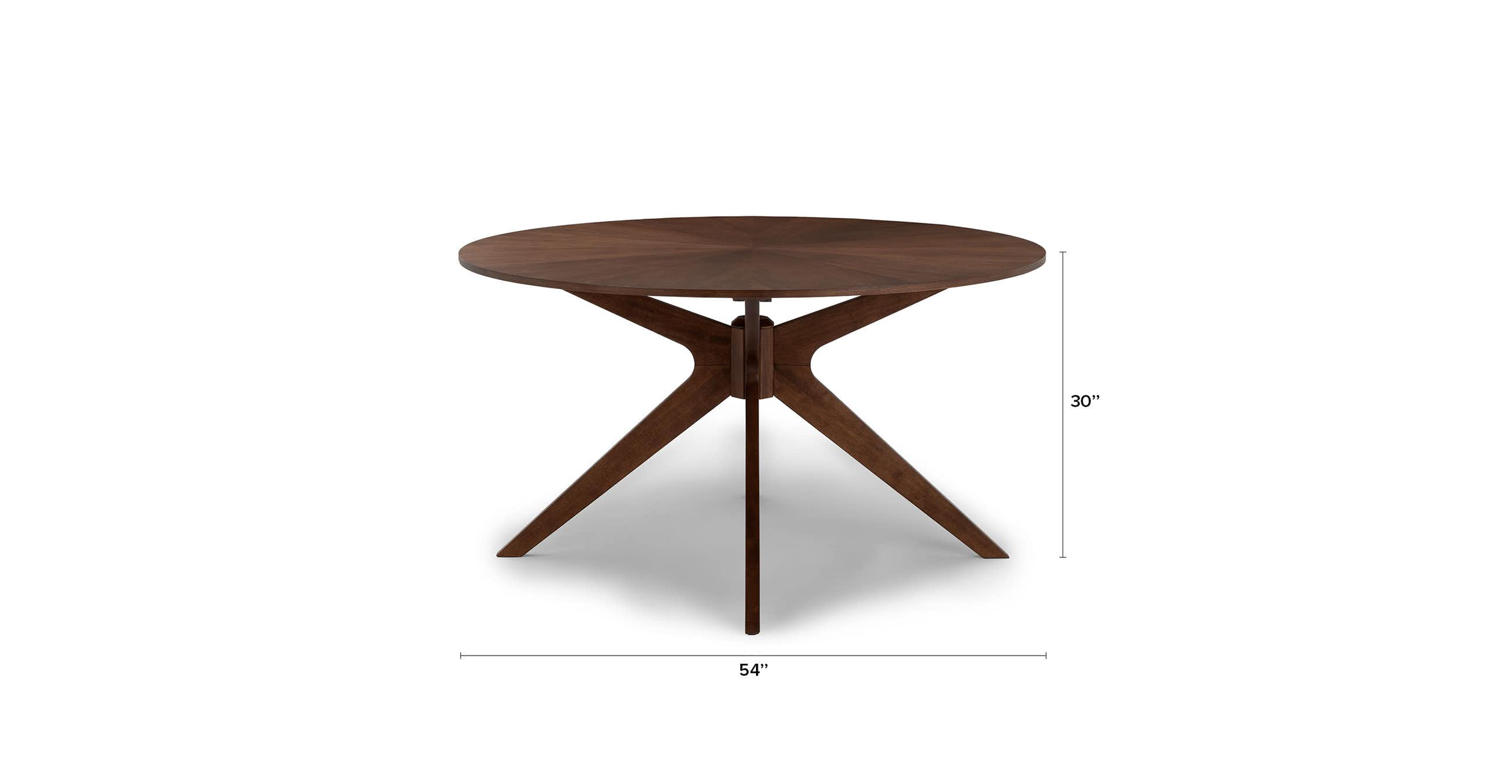 """Conan 54"""" Round Dining Table"""