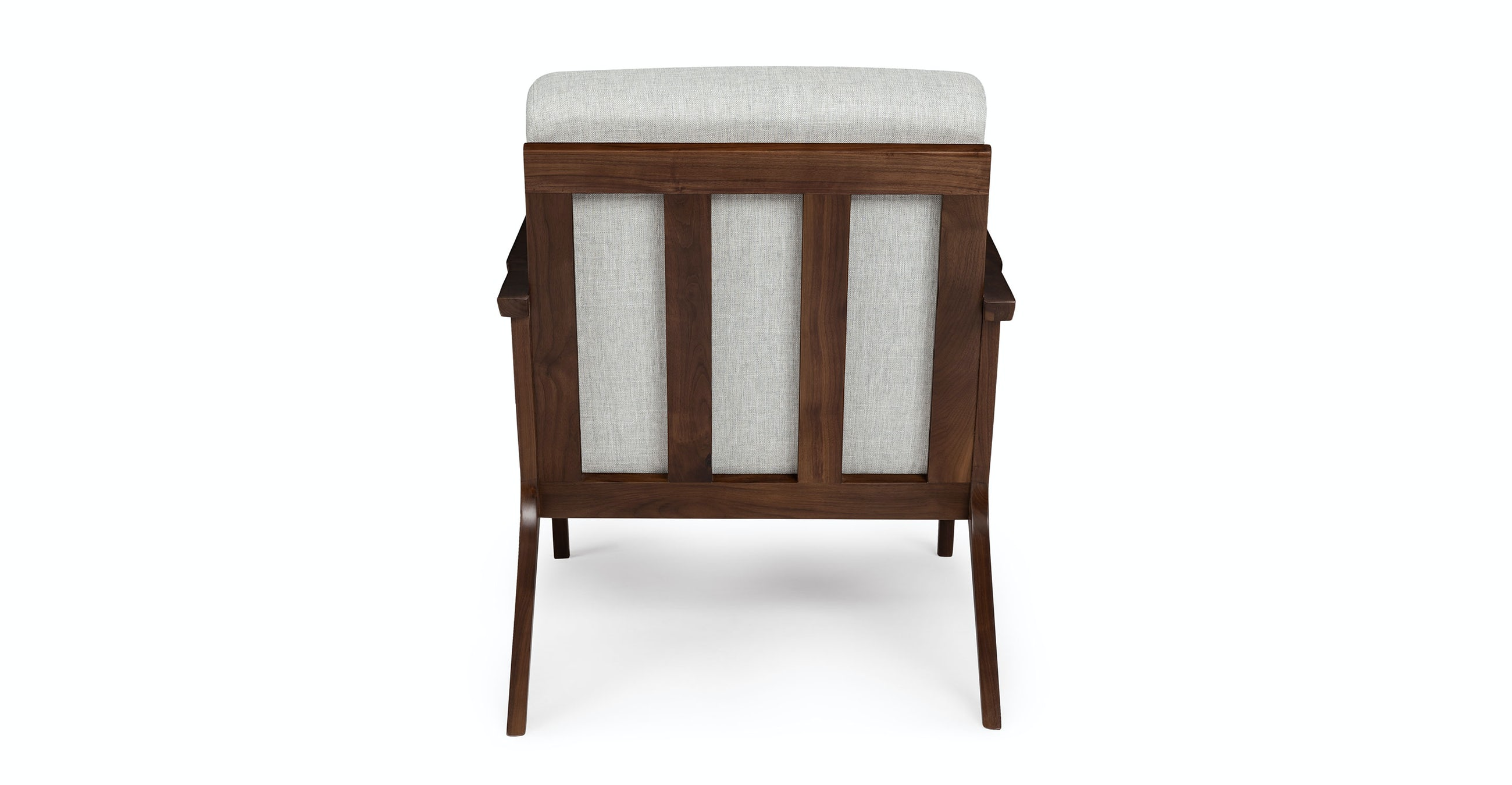 Otio Mist Gray walnut Lounge Chair