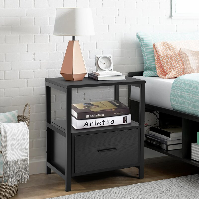 Holton 1 Drawer Nightstand