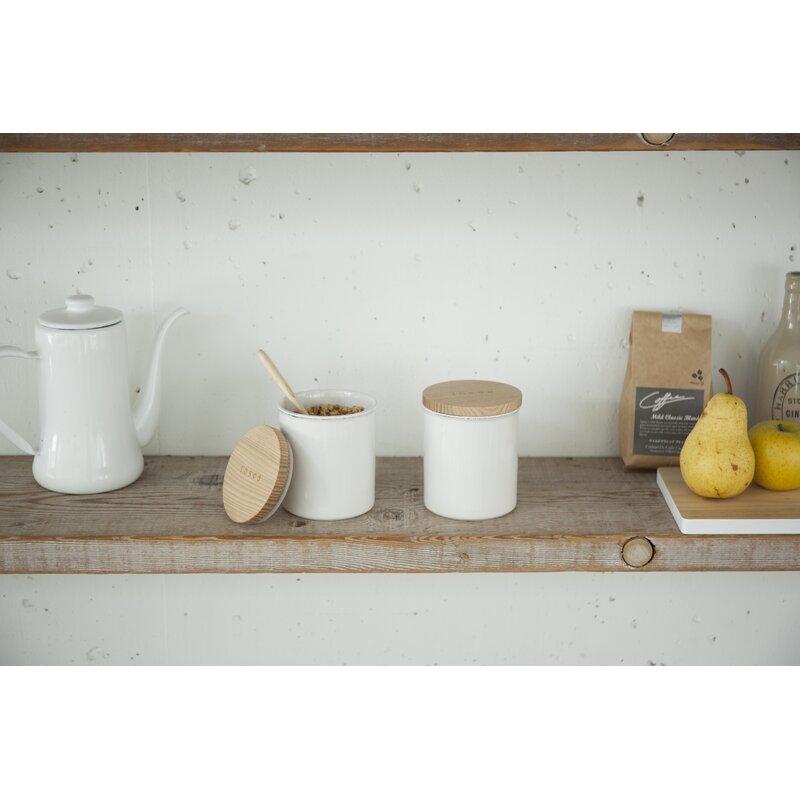 Tosca 1.08 qt. Ceramic Kitchen Canister