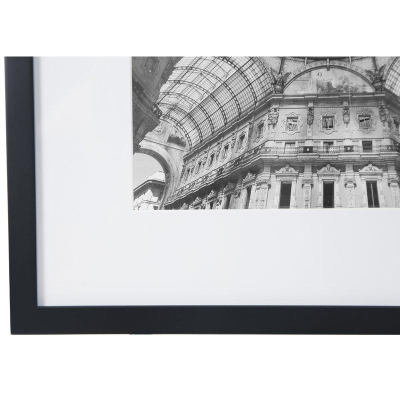 Noland 12 Piece Matted Picture Frame Set Black Frames