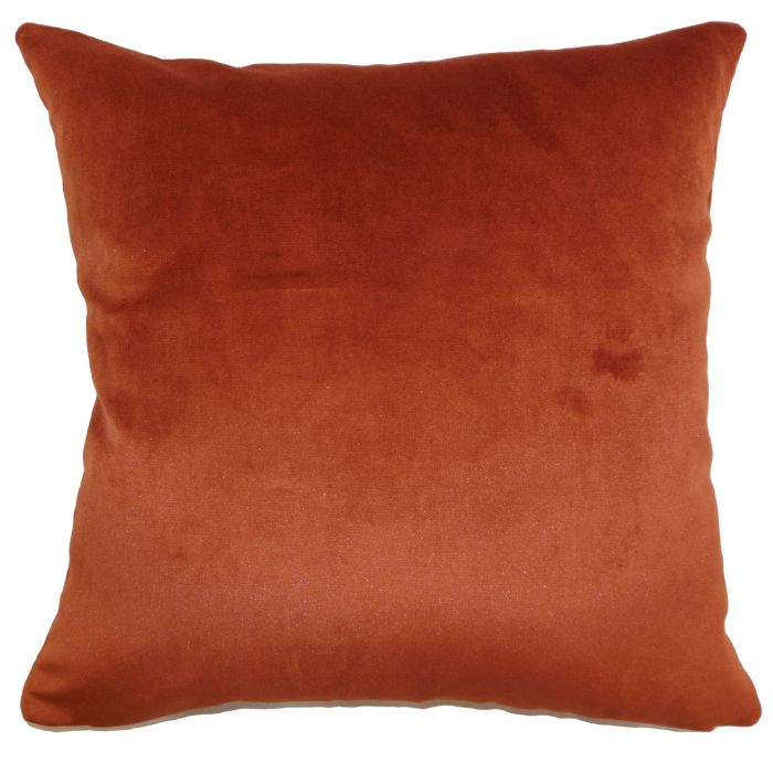 Claude Pillow- Rust with down insert