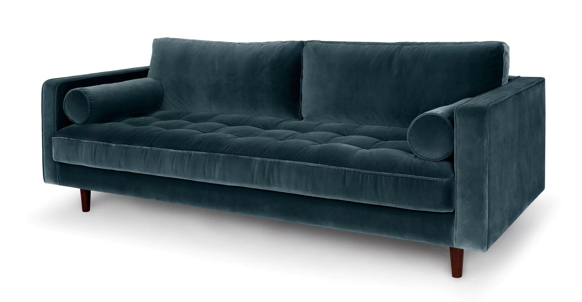 Sven Pacific Blue Sofa