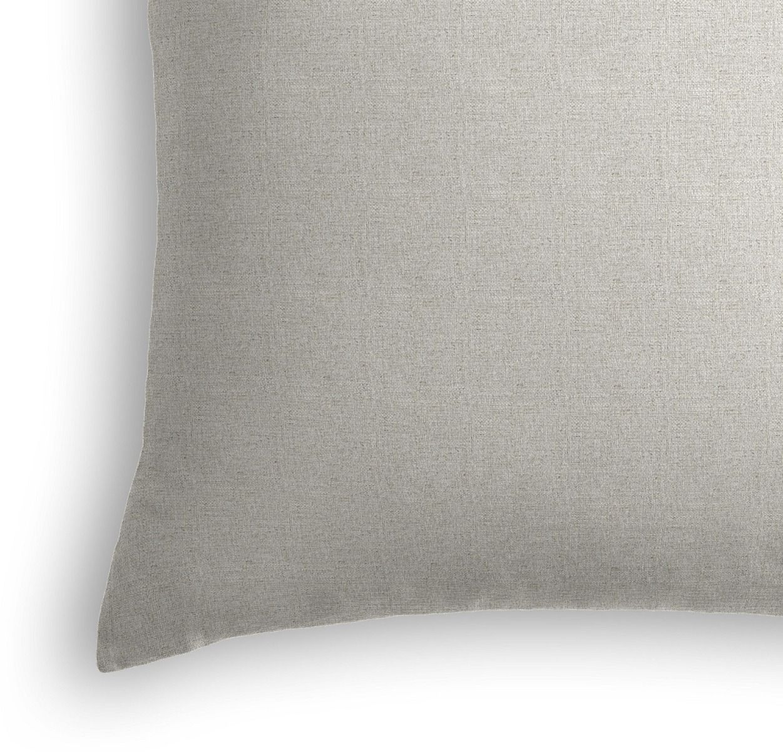 """Classic Linen Pillow, Sandy Tan, 22"""" x 22"""""""