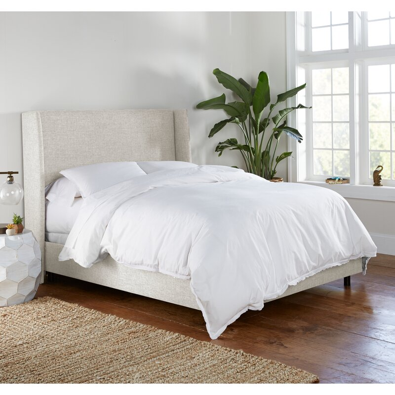Alrai Upholstered Low Profile Standard Bed - King
