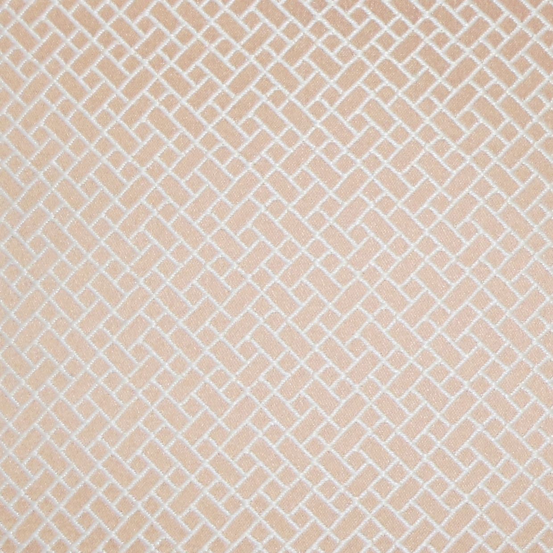 "Pertessa Geometric Pillow Blush-20"" x 20""-Polyester Insert"