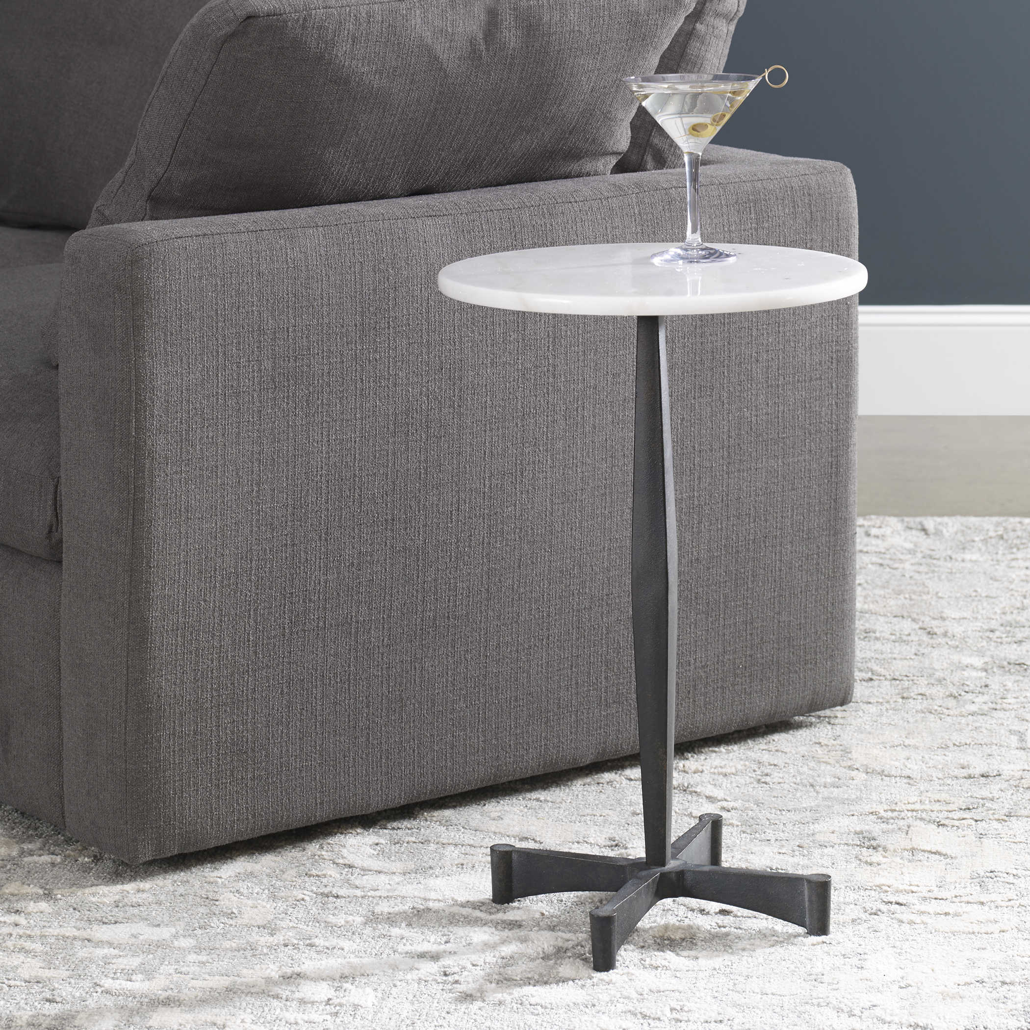 Counteract White Accent Table