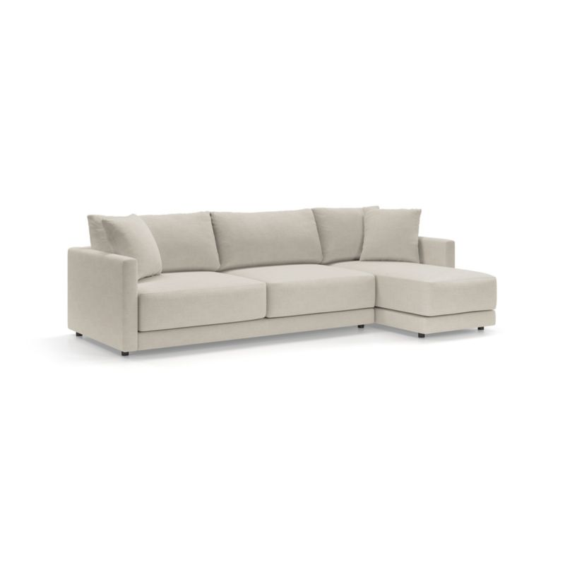 Gather 2-Piece Right Arm Chaise Sectional