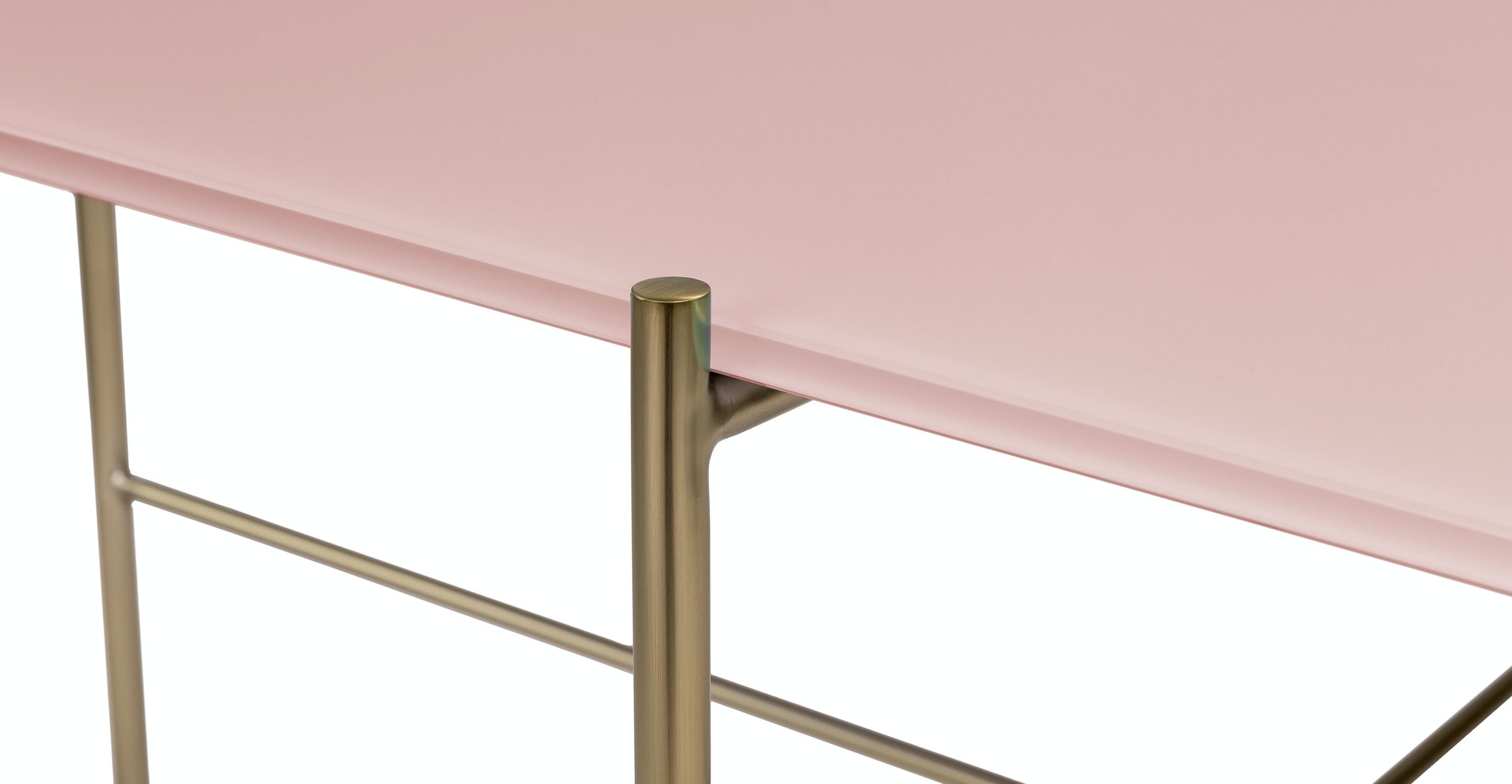 Silicus Pink Oblong Coffee Table