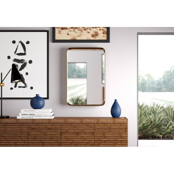 Lankin Modern and Contemporary Beveled Accent Mirror