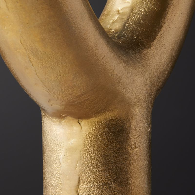 Durum Large Gold Sculpture