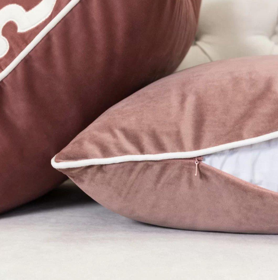 Norris Plush Velvet Pillow Cover
