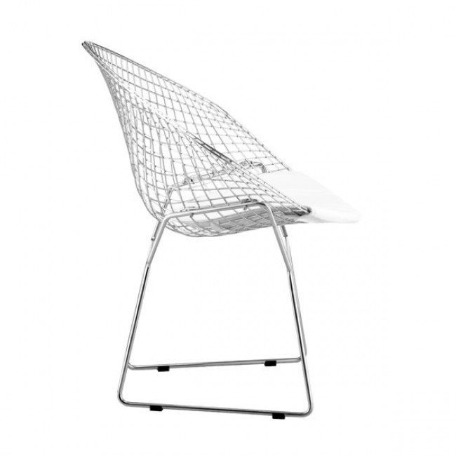 Net Dining Chair White, Set of 2