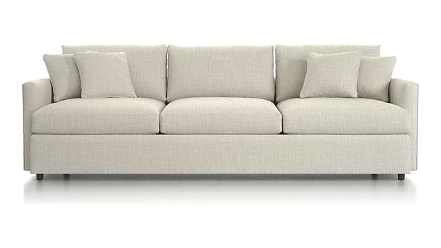 "Lounge II 3-Seat 105"" Grande Sofa - Windward Sand"
