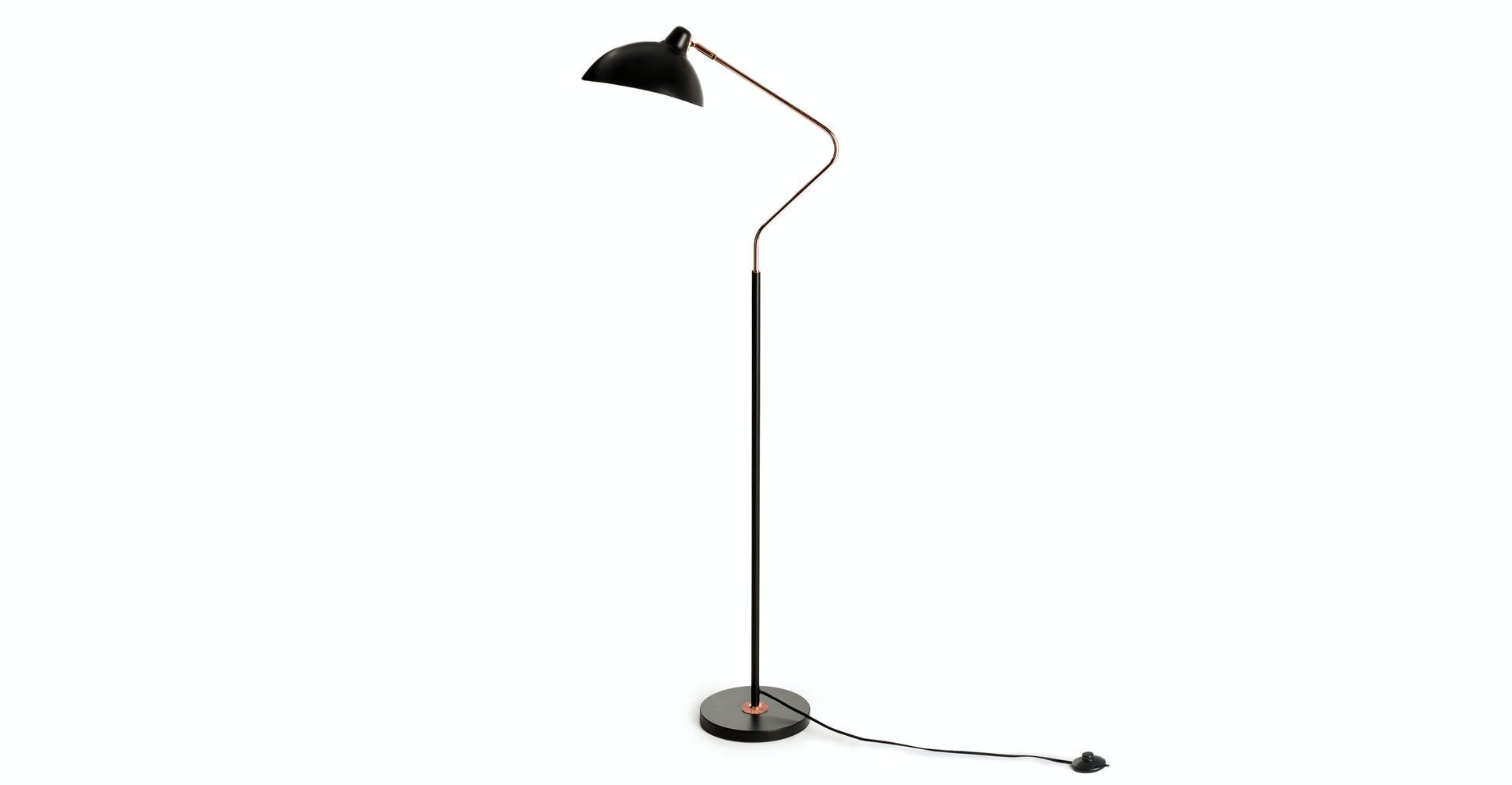 Leap Black Floor Lamp