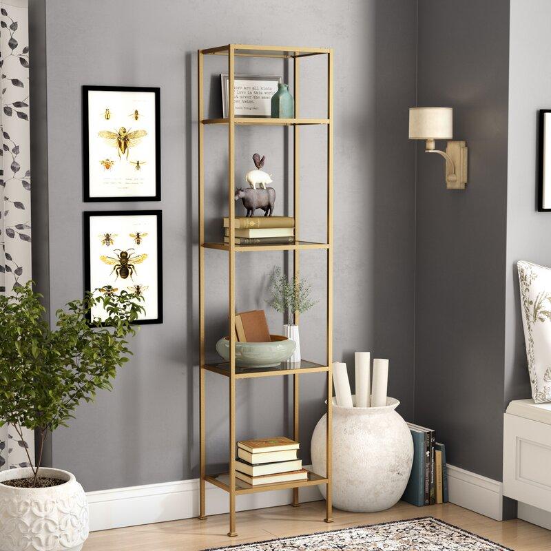 Otha Etagere Bookcase