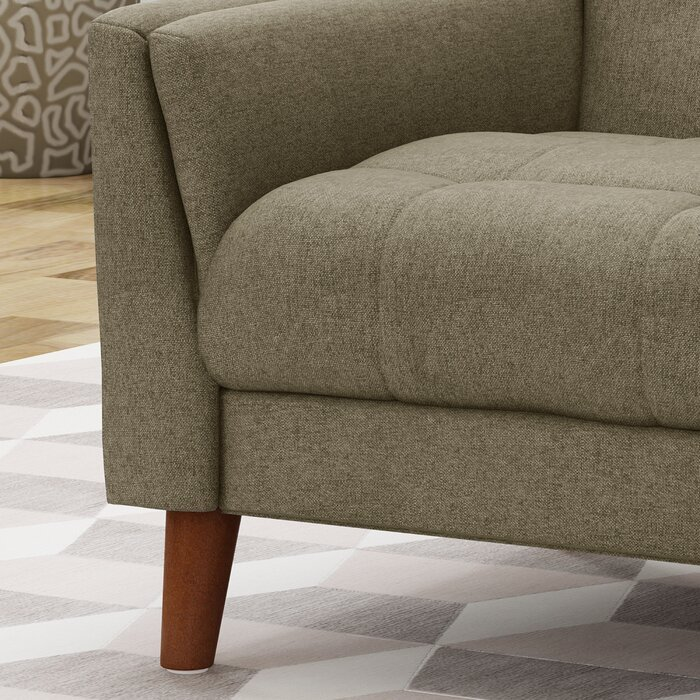 """Ulises 32.28"""" Wide Tufted Polyester Armchair"""