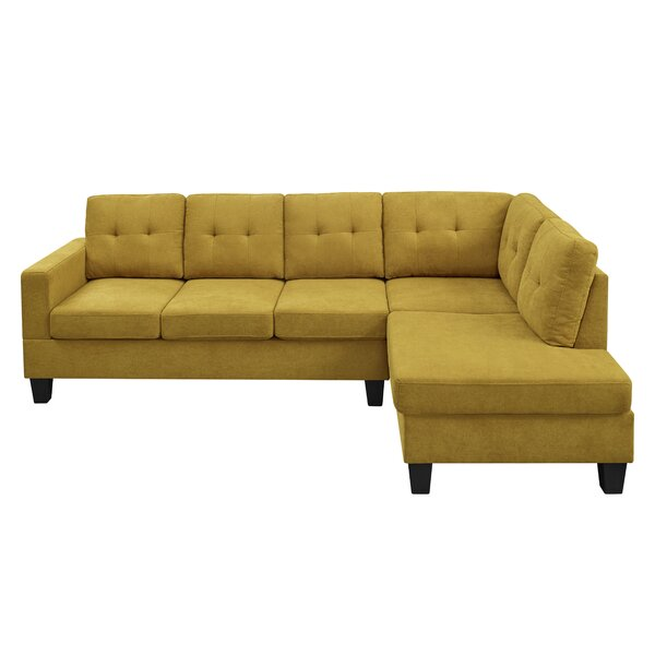 Adryel 98'' Wide Right Hand Facing Sofa & Chaise