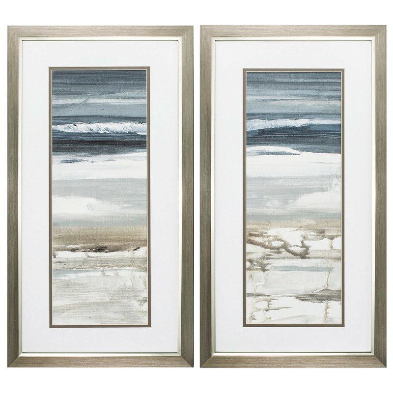 'Horizon' 2 Piece Picture Frame Graphic Art Set