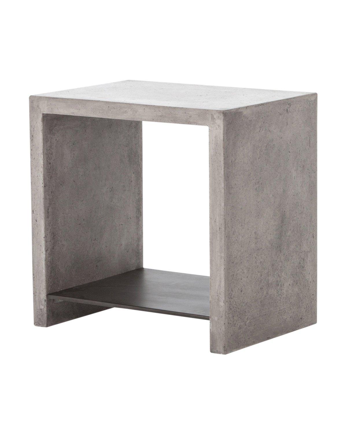 FRANCO SIDE TABLE, DARK GRAY
