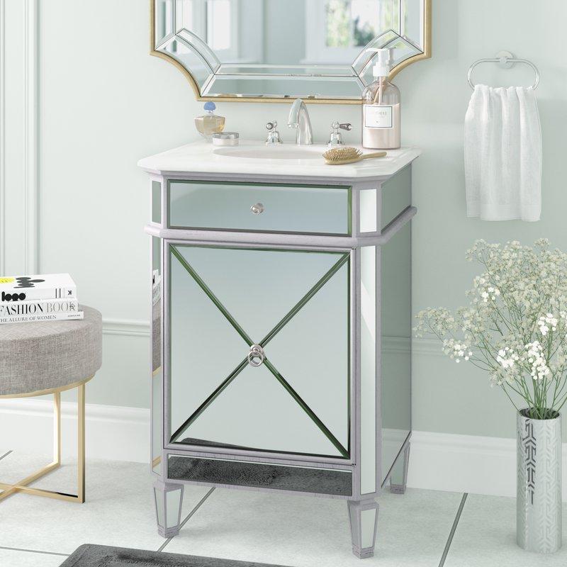 "Jiya 24"" Single Bathroom Vanity Set"