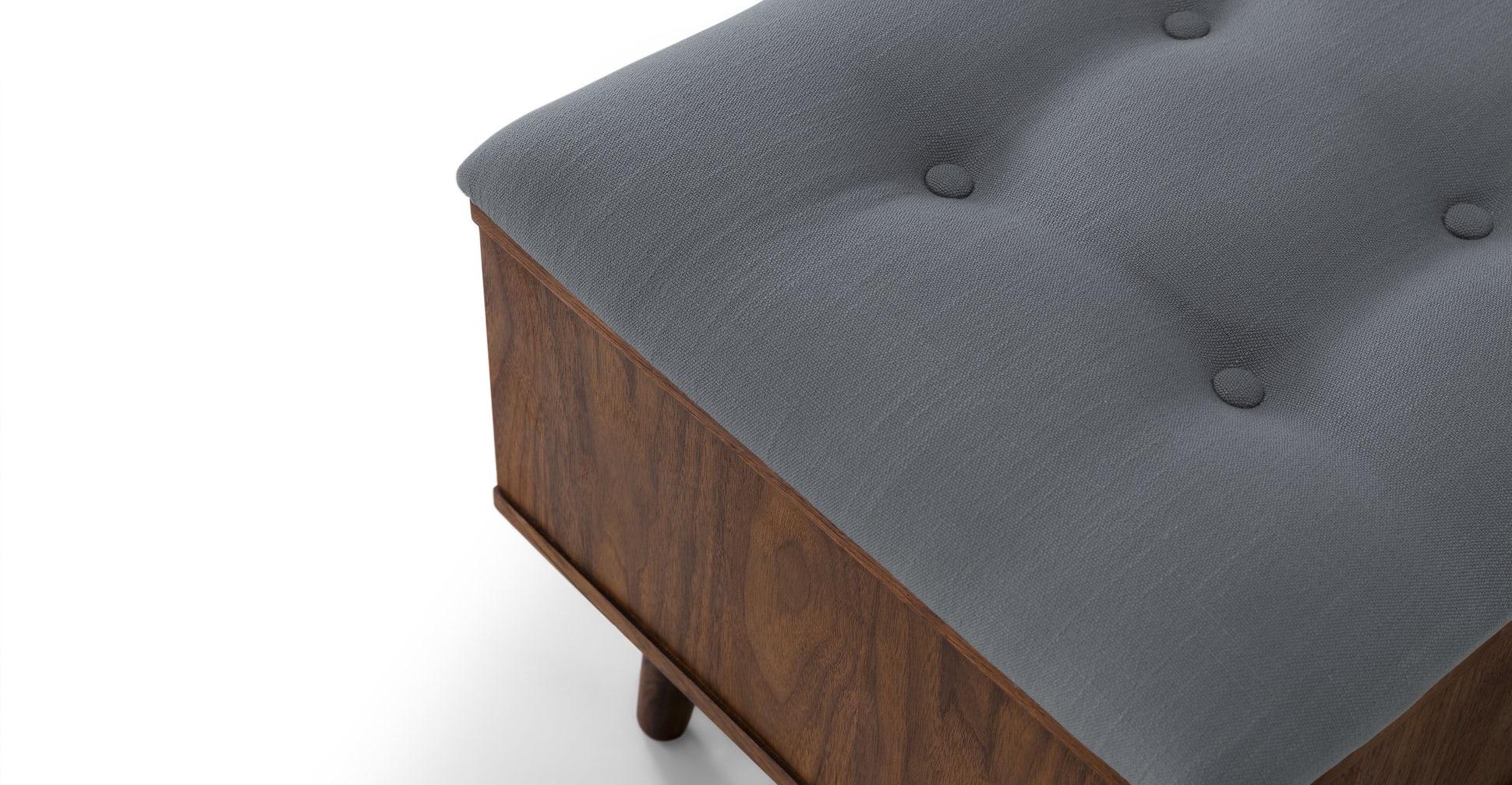 Culla Walnut Bench
