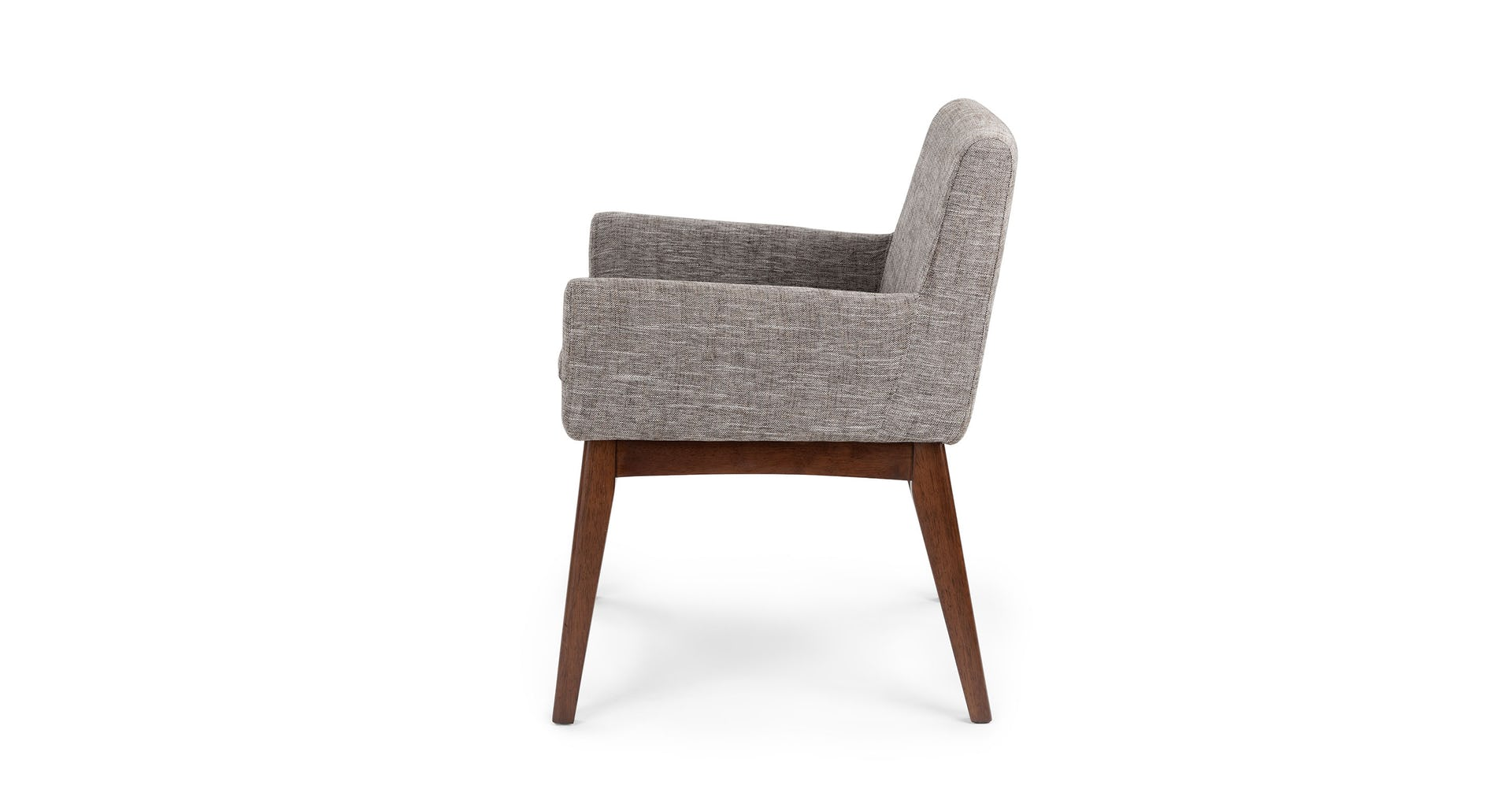 Chanel Volcanic Gray Dining Armchair (set of 2)