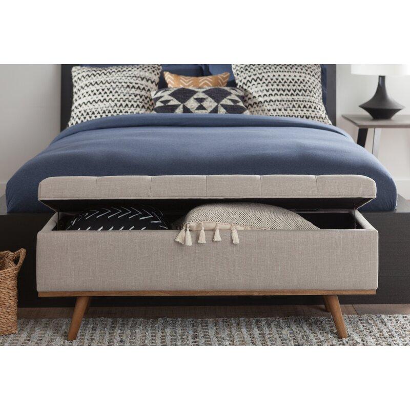 Harlee Upholstered Storage Bench