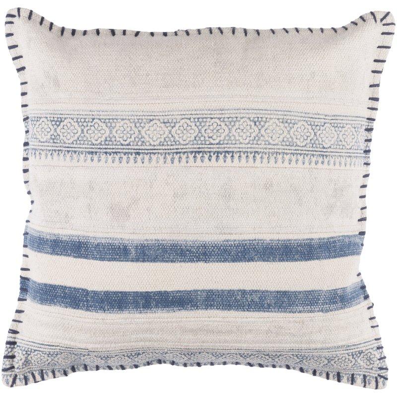 Friedman 100% Cotton Throw Pillow