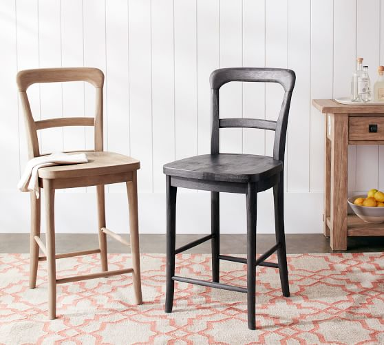 Cline Counter Stool, Charcoal