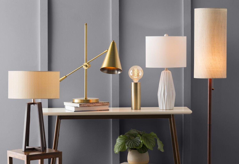"""Aberdash Ceramic 25"""" Table Lamp"""