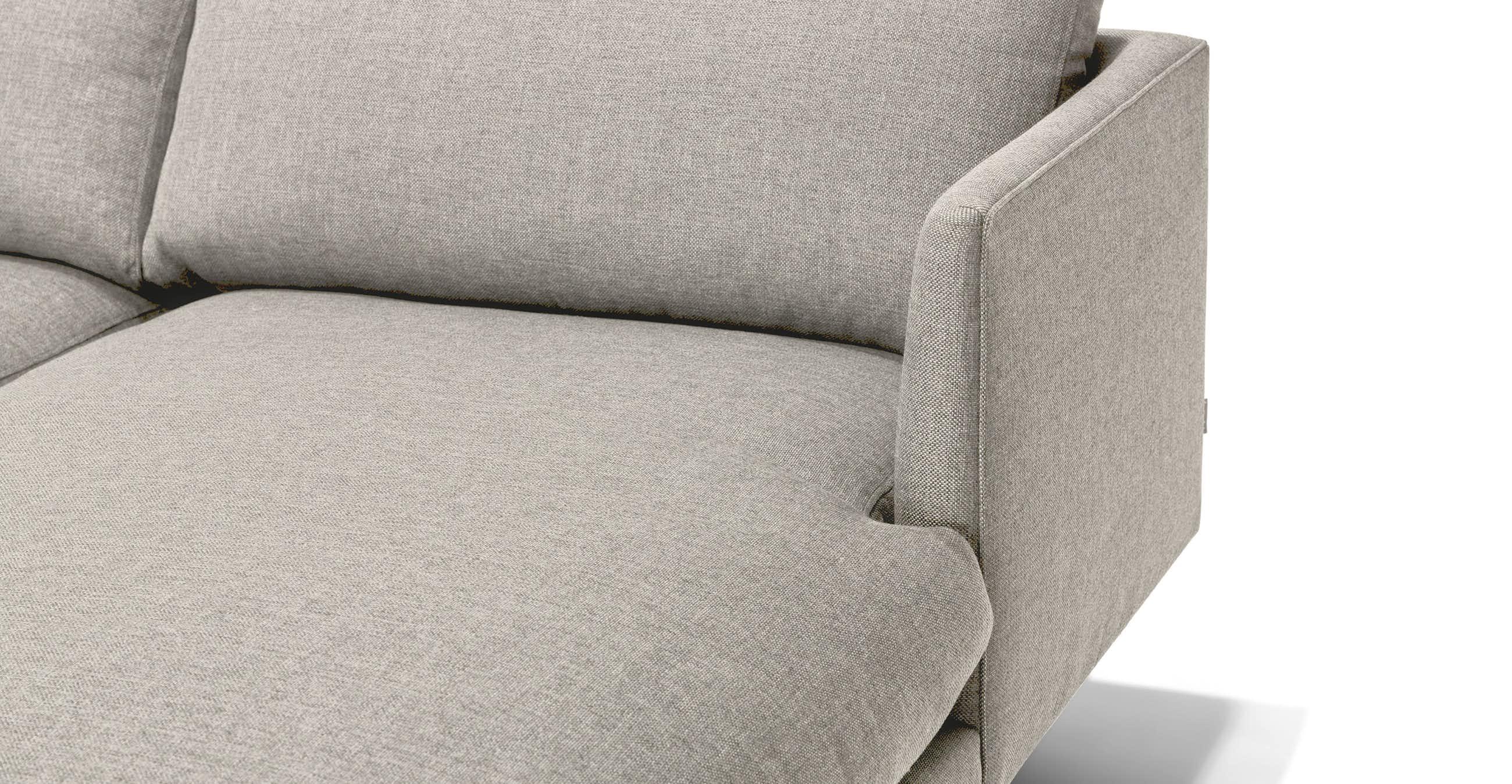 Burrard Seasalt Gray Right Sectional Sofa