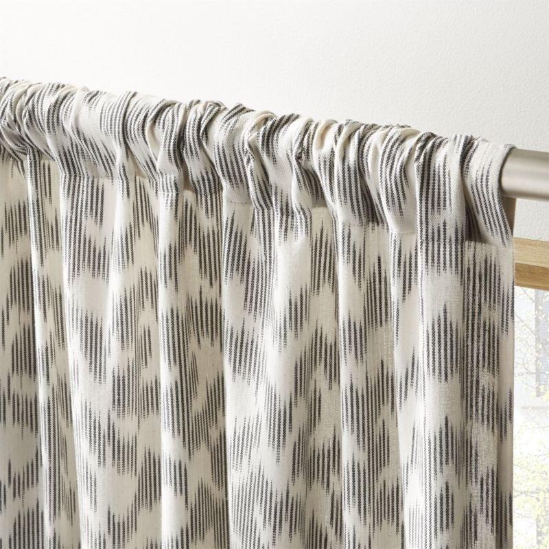 "Melfi Ikat Curtain Panel 48""x84"""