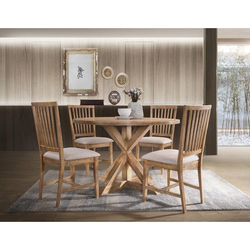 "Aloisio 47.5"" Pedestal Dining Table"