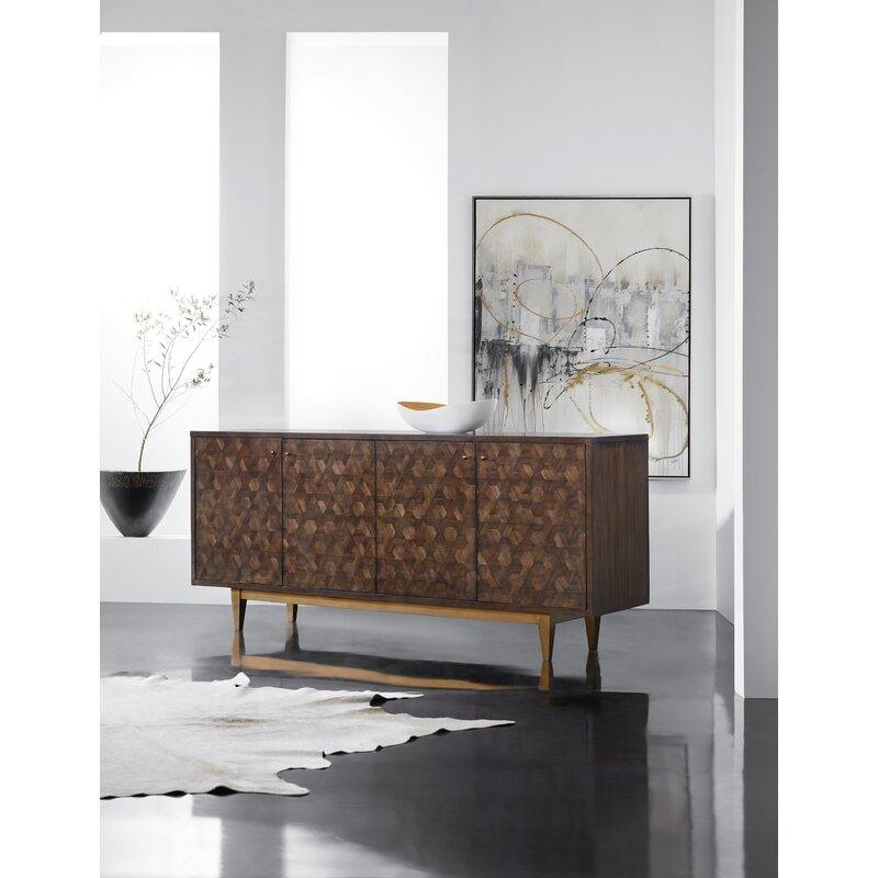 Melange 78'' Wide Sideboard