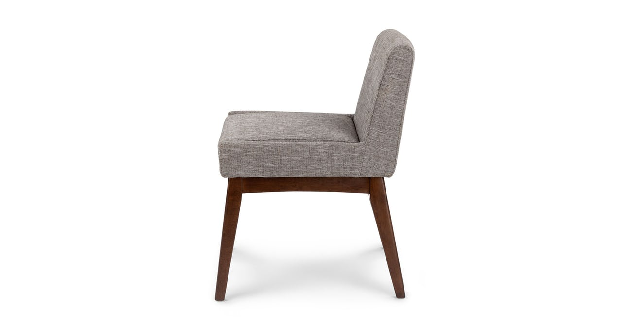 Chanel Volcanic Gray Dining Chair (set 2)