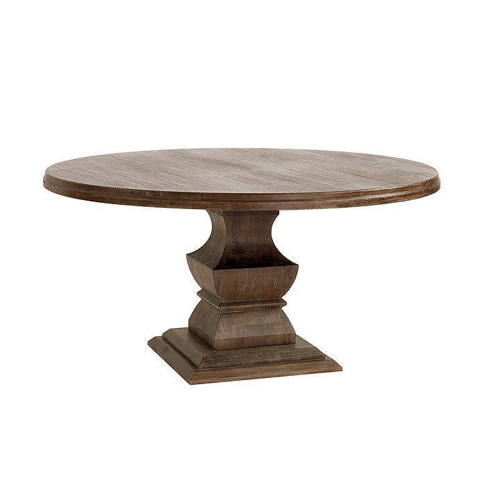 Ballard Designs Andrews Pedestal Dining Table 60