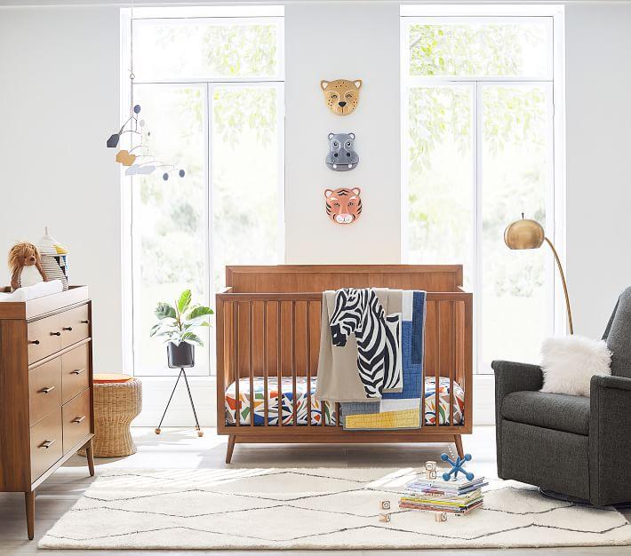 west elm x pbk Baby Souk Nursery Rug, 5x8', Ivory