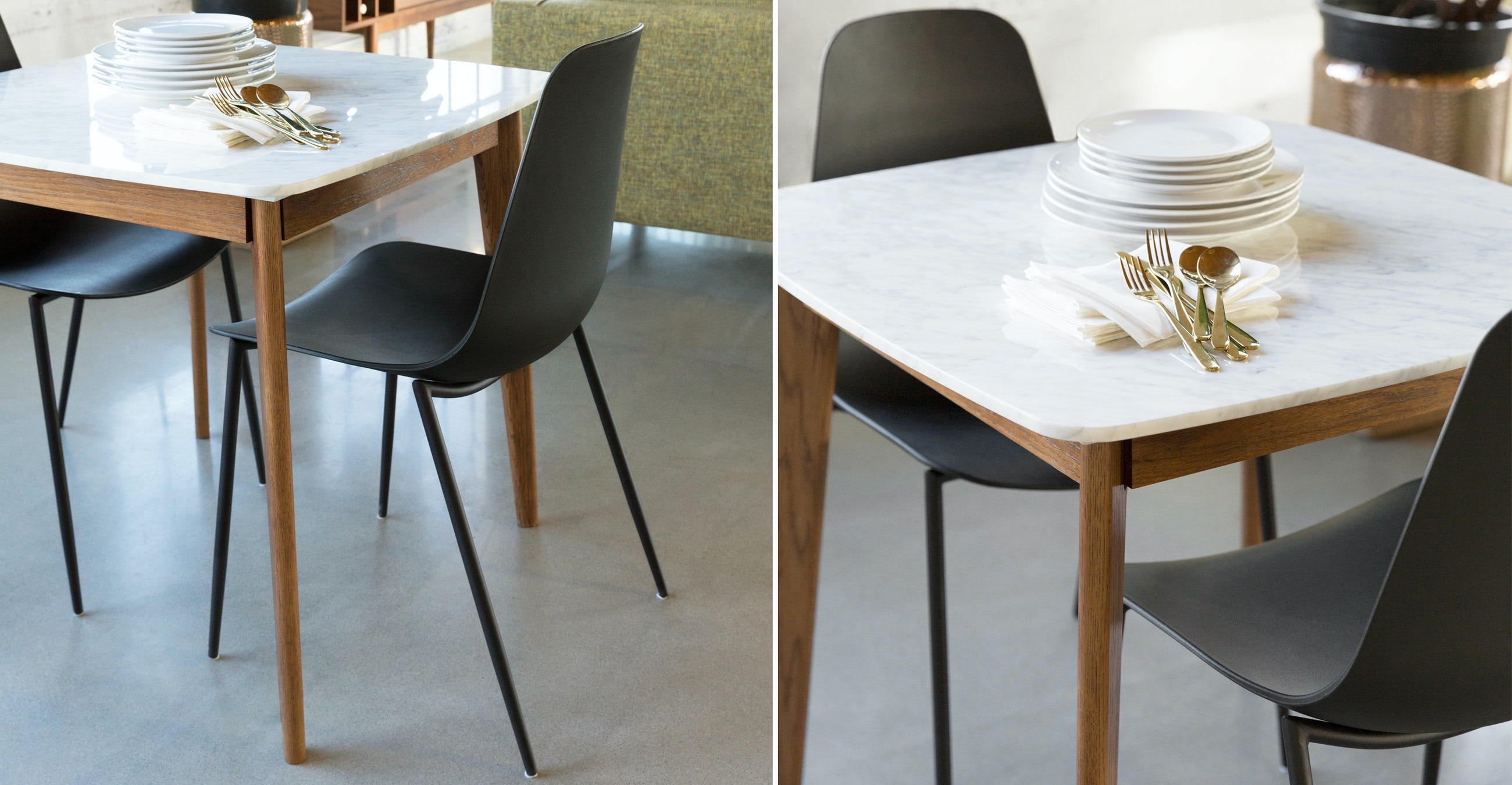 Vena Walnut Cafe Table