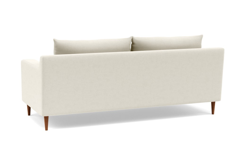 "SLOAN Fabric Sofa - 83"" - Chalk Heathered Weave-Double down blend"