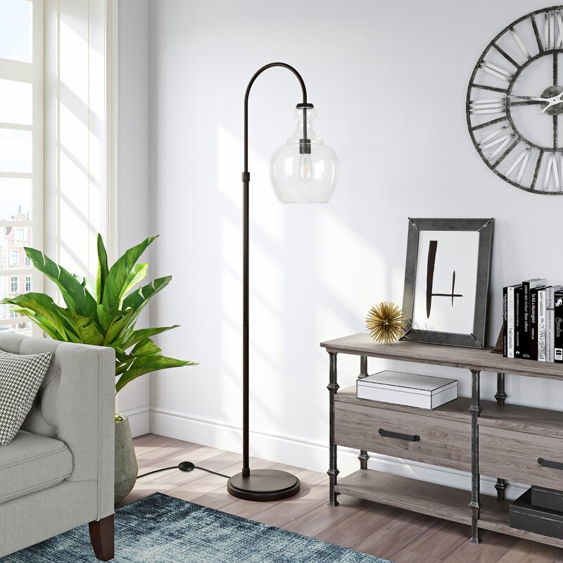 """Dayna 70"""" Arched/Arc Floor Lamp"""
