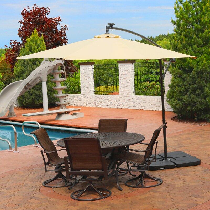 Anna 9.5' Cantilever Umbrella