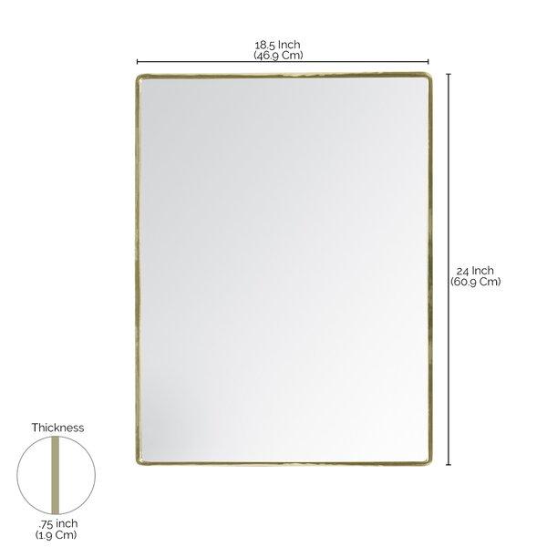 Irven Modern Accent Mirror