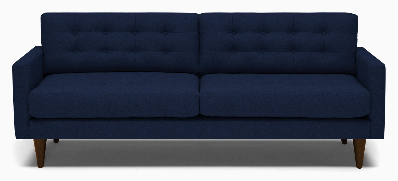 Eliot Sleeper Sofa- Royale Cobalt and Mocha