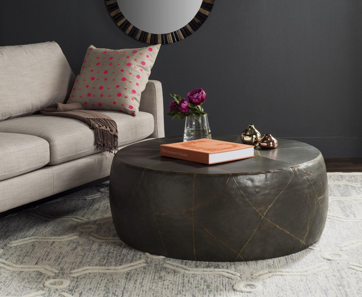 Vernice Coffee Table - Silver - Arlo Home