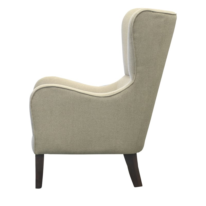 Demi Mid-century Wingback Chair