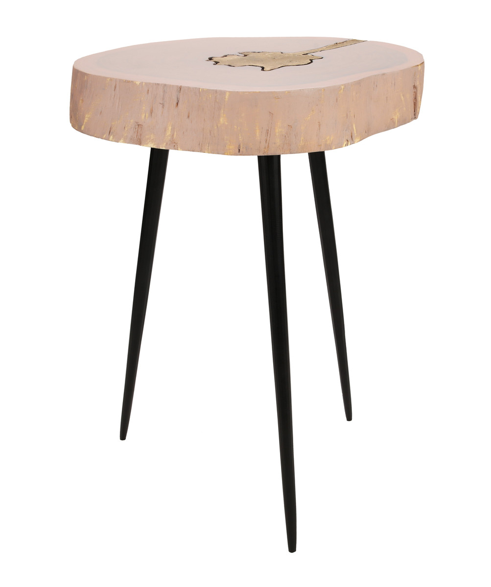 Kenzie Jane and Brass Side Table
