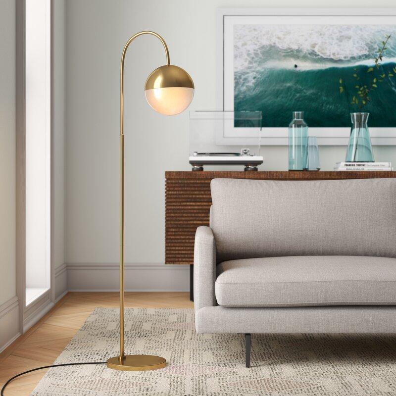 """Sadie 56"""" Arched Floor Lamp"""