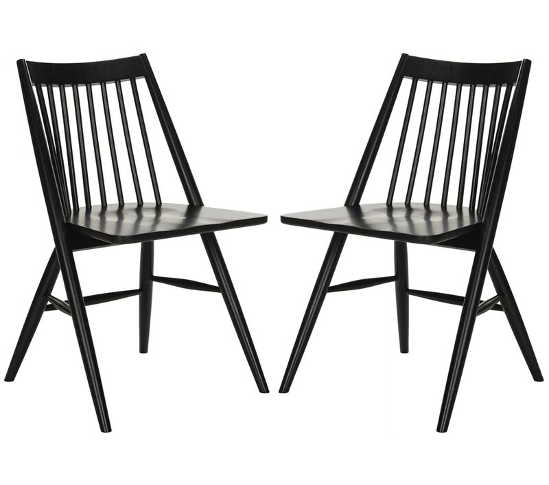 Cody Solid Wood Side Chair - Set of 2